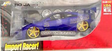 JADA Toys Import Racer Blue Toyota Celica 1:24 Die Cast Model Car JDM Modified
