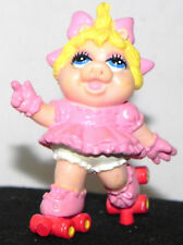 """Estate: The Muppets & Yes its Baby Ms Piggy on roller Skates 3"""" Tall Hard Rubber"""