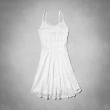 New NWT ABERCROMBIE & FITCH WOMEN KRISTEN LACE DRESS SIZE M