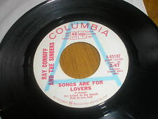 RAY CONIFF & THE SINGERS SONGS ARE FOR LOVERS/THESE ARE MY FLOWERS COLUMBIA