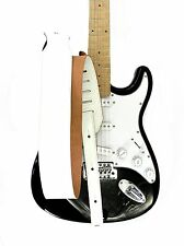 New Adjustable Genuine Leather Strap for Electric Acoustic Bass Guitar White