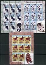WEISSRUSSLAND BELARUS 2010 Hunde Dogs Kleinbögen ** MNH