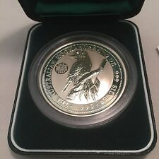 1995 Australian Kookaburra 2oz Silver Perth Mint Coin: Privy Mark: World Vision