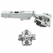 1x Clip Top BLUMOTION BLUM 71B3550 Soft Close Screw-On Cabinet Hinge Set 110°