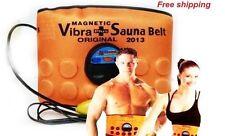 2 X Sauna Massager Slimming acupressure Vibrating Fat Burner Belt Vibration