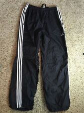 Adidas Track Pants Men's Black Lined Running Gym Track Size XL Kd1