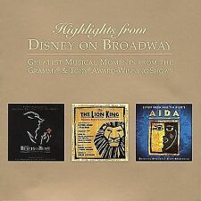 Highlights From Disney On Broadway 2002