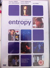 Stephen Dorff Kelly MacDonald Bono ENTROPY ~ 1999 Phil Joanou Film | Rare UK DVD