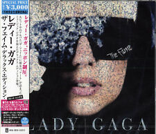 "LADY GAGA ""THE FAME"" JAPAN CD+DVD +3 BONUS TRACKS *SEALED*"