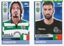 SPO4-5 RUI PATRICIO SCHELOTTO SC.PORTUGAL STICKER CHAMPIONS LEAGUE 2017 TOPPS