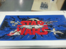 Data East Star Wars Pinball cabinet decal set screen printed and perfect