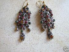 Antique Early Victorian Paste Sister Earrings