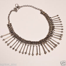 New fashion vintage theme designer necklace .925 silver 112gms free shipping