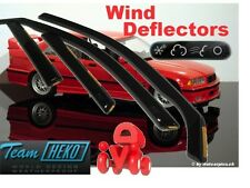BMW Series 3 Wind Deflector HEKO BMW E36 4d 1991-1998 SEDAN 4.pcs 11138