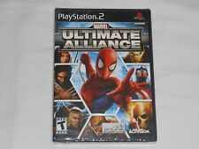 NEW Marvel Ultimate Alliance Playstation 2 Game SEALED BLACK LABEL PS2 marval US