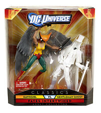 DC UNIVERSE CLASSICS__HAWKGIRL vs. GENTLEMAN GHOST 6 inch figures_2 Pack_NEW_MIB