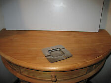 *NEW* Cendrier 11x11cm argenté Ashtray