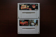 Super Famicom SFC Street Fighter 2+Final Fight Classic Capcom JP games US Seller