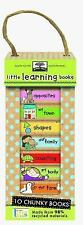 Little Learning Books : 10 Chunky Books Made from 98% Recycled Materials by...