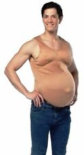 Pregnant Belly Body Suit Costume Adult Mens Womens Funny Humorous Beer Fat