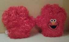 Mattel Sesame Street Muppets Elmo Tickle Hands 2 Red Gloves Talks Laughs Shakes