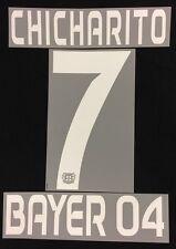 Bayer 04 Leverkusen CHICHARITO Spieler Flock 25cm für JAKO Trikot 2016-2017