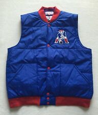 """Vtg Mitchell And Ness New England Patriots NFL Football """"snap"""" Throwback Vest XL"""