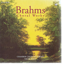 CD BRILLIANT CLASSICS 8 CD SET BRAHMS COMPLETE ACAPELLA CHORAL WORKS