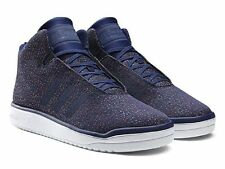 Adidas Veritas Mid Weave Men Size 8.5 New Sneakers High Top Shoes B34533 Blue