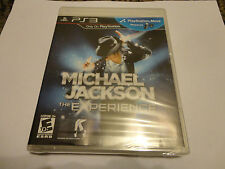 Michael Jackson: The Experience  (Sony Playstation 3, 2011) NEW PS3