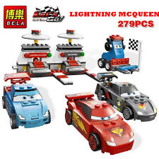 279PCS LIGHTNING MCQUEEN RACING CAR BUILDING BLOCKS KID TOY - Compatible w/ Lego