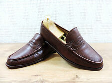 Church's men's brown sondro leather penny loafers-uk 6.5 f - 7.5 f ue 40.5