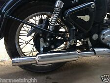Customised Short Bottle (Free Flow) Silencer Royal Enfield