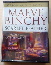 AUDIO BOOK: Maeve Binchy SCARLET FEATHER read by Kate Binchy on 4 x cass