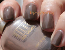 NEW! Milani Nail Polish Lacquer in TEDDY BROWN #13A Light Chocolate / Tan Latte