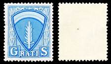 Allied Military Government Travel Fee Gratis Stamp 1948 SHAEF Sword Shield #610
