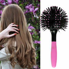 3D Hair Brush Ball Style Blow Drying Detangling Salon Heat Resistant Comb New UR