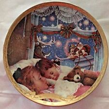 A Long Winters Nap Collector Plate 1996 The Night Before Christmas Collection #2