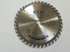 "GTS 7 1/4"" 40 Tooth, TCT Circular Saw Blade 5/8"" Round Arbor w/Diamond Knock-Out"