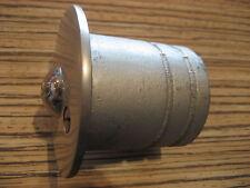 Boden Türstopper Türaufhalter mit Kugelschnäpper Haustür Arretierung guter Zust.