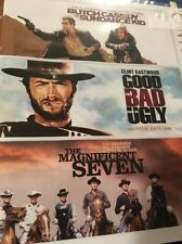 Butch Cassidy & Sundance Kid/ The Good, Bad, Ugly /Magnificent Seven Blu ray NEW