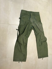 m65 pant OD,olive, used A+, small short  , us made, gi issue, 1971,winfield