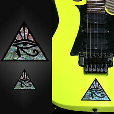 Pyramid Eye (large and small) Inlay Sticker Guitar & Bass Ibanez Jem Vai