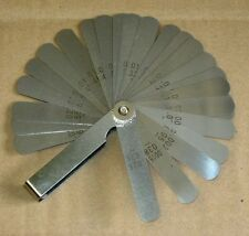 OEM 26 blade Feeler Thickness Gap Gauge - inch & MM markings - PRO Quality