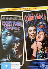 New! DOUBLE FEATURE! COUNT YORGA, VAMPIRE / THE RETURN OF YORGA (HORROR, CULT)