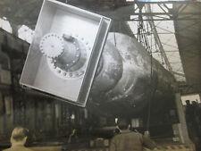 Photo presse vintage l'industrie spatiale française shères réservoirs d'ergol