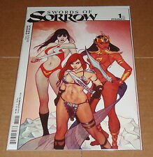 Swords of Sorrow #1 Jenny Frison Variant Edition 1st Print Dynamite