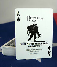 Bicycle Wounded Warrior Playing Cards - Plastic Coated