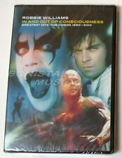 ROBBIE WILLIAMS - IN AND OUT OF CONSCIOUSNESS - HITS 1990-2010 - 2 DVD SIGILLATO