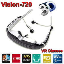 "68"" Screen HD 1080P 8GB Stereo Virtual Theater Digital 3D Video Glasses Eyewear"